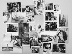 black white fashion style vogue magazine