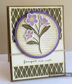 Forget Me Not, Forget Me Not Die-namics, Fishnet Cover-Up Die-namics, Blueprints 12 Die-namics - Melody Rupple #mftstamps