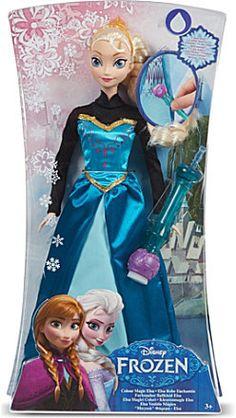 Disney Frozen colour change playset