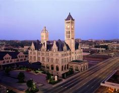 The Spookiest Hotels to Visit This Halloween: Union Station Hotel in Nashville, Tennessee