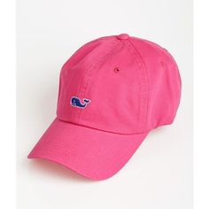 Shop Whale Logo Baseball Caps in Women's Accessories | Vineyard Vines® ($28) ❤ liked on Polyvore featuring accessories, hats, ball cap, baseball caps, ball cap hats, vineyard vines hat and vineyard vines