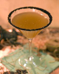 Sinister Cider Cocktail - Martha Stewart Recipes - Perfect Halloween Drink!