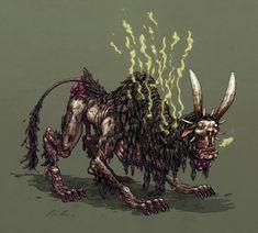 Stinky Beast by Olli Hihnala