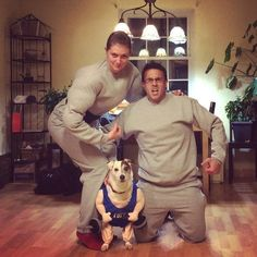 "This Hans and Franz couple from ""SNL"" (and their dog) 