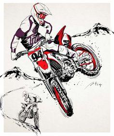 M Tattoos, Tattoo Drawings, Cool Drawings, Motocross Tattoo, Dirt Bike Quotes, Football Tattoo, Graffiti Doodles, Enduro Motocross, Triumph Motorcycles