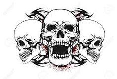 Image result for vector skulls
