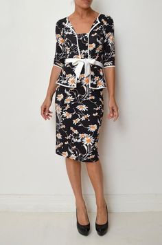 aad5cced530 Floral Party Cocktail Dresses for Women with Peplum