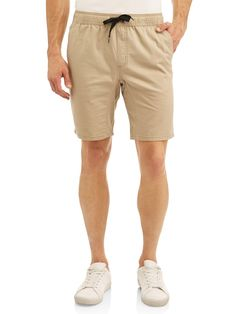 3eb8ab35 GEORGE - Big Men's Woven Jogger Short - Walmart.com