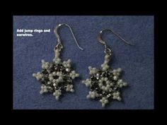 6 DIY Winter Snowflake Jewelry Tutorials