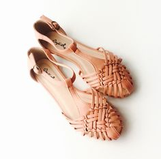 Andrea Flats - Blush – Zelle Boutique