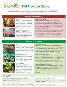 Seasonal growing autumn on pinterest starting a for Fall cooking tips