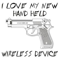 My new handheld wireless device