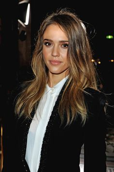 Jessica Alba spotted in Stella McCartney front row #pfw. See all the stars here: