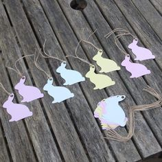 Pin by thestarhut on gifts home accessories pinterest easter bunny shaped pastel gift tags x 16 easter gifts amazon negle Gallery