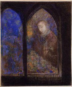 Odilon Redon, Equise de Vitrail 1905 University of Iowa Museum of Art