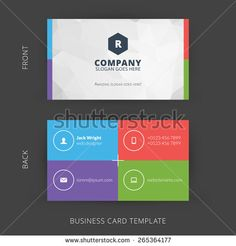 Business Cards Templates Stock Photos, Images, & Pictures | Shutterstock
