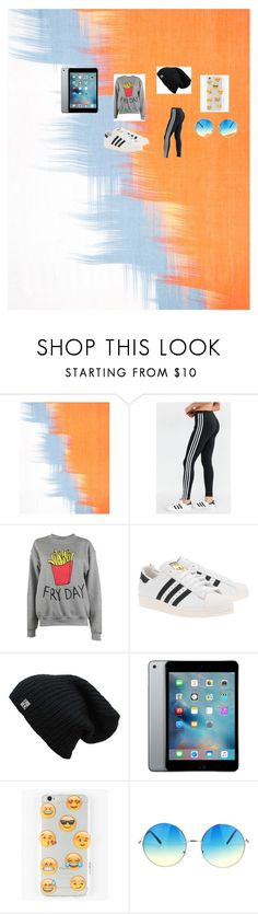 """""""outfit for a story"""" by jtbae ❤ liked on Polyvore featuring Jaeger, adidas, Adolescent Clothing, adidas Originals and Ankit"""