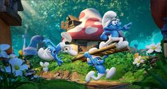 In this fully animated, all-new take on the Smurfs, a mysterious map sets Smurfette and her best friends Brainy, Clumsy and Hefty on an exciting and thrilling race through the Forbidden Forest filled with magical creatures to find a mysterious lost village before the evil wizard Gargamel does. Embarking on a roller-coaster journey full of action and danger, the Smurfs are on a course that leads to the discovery of the biggest secret in Smurf history.