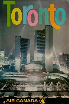 Toronto - Air Canada - 1960's -