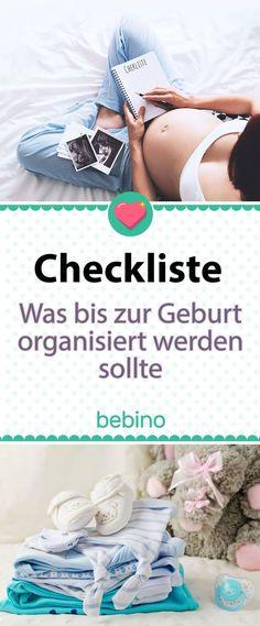 Du bist schwanger und ganz viel Neues kommt auf dich zu. Aber was ist wichtig, was musst du erledigen, wann soll dein Chef davon erfahren, wann musst du dich um einen Kindergartenplatz kümmern? Diese und viele weitere Fragen beantworten wir dir in unserem Blogpost. #Schwangerschaft #Geburt #Checkliste #Aufgaben #ToDos #Organisation #Erstausstattung