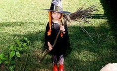 DIY Halloween : DIY Witch Costume: Make A Witch's Broomstick