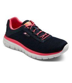 S Sport by Skechers Womens Navy Memory Foam Performance Athletic Shoes - NEW #SSportbySkechers #RunningCrossTraining