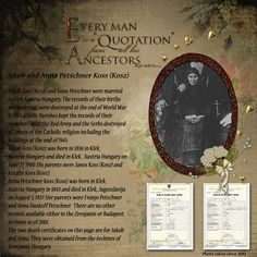 """""""Every man is a Quotation from his Ancestors"""" Great scrapbook page header . . . LOVE IT!"""