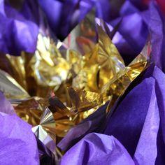 Paper Flowers, Pearl, Purple, Bead, Viola, Pearls