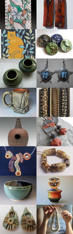 The Language of Clay by Barbara Hanselman on Etsy--Pinned with TreasuryPin.com