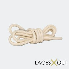 """Tan / Nude """"Rope"""" Laces - Tan Tipped Shoelaces - 50"""""""
