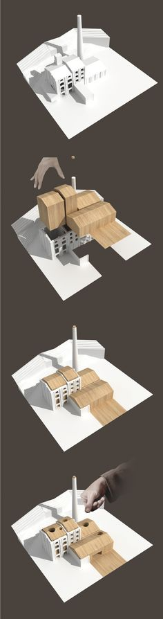 concept diagram | La-Castelnuovese Headquarters | KK Architetti Associati