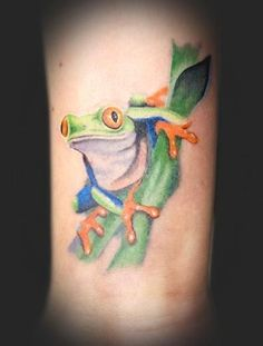 Pin by Yvonne Mason on Realistic & 3D Frog Tattoo Ideas | Pinterest
