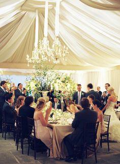 Andrew and Tracy's Keswick Hall in Martha Stewart Weddings   Charlottesville Wedding, Keswick Hall