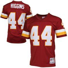 Washington Redskins John Riggins Mitchell & Ness Burgundy Retired Player Vintage Replica Jersey