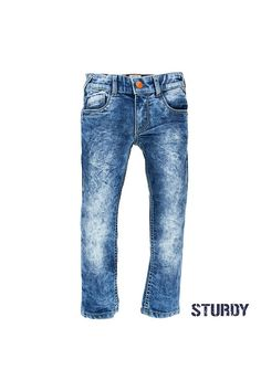 broek acid wash regular fit