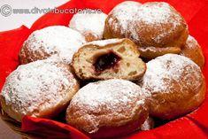 gogosi-de-post-cu-gem Doughnut, Donuts, Deserts, Muffin, Breakfast, Food, Marmalade, Frost Donuts, Morning Coffee