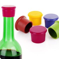 #1/2/5pcs wine beer plug cap bottle #stopper #gadget bottle cork silicone seal fg,  View more on the LINK: 	http://www.zeppy.io/product/gb/2/272254863094/