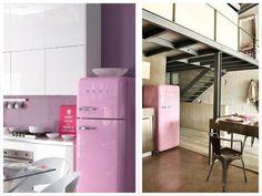 Geladeiras coloridas com o blog @A Casa das Gurias ->  http://www.blogsdecor.com/acasadasgurias/geladeiras-coloridas/ #retro #geladeiras #neveira #coloridas #cores #cozinhas #kitchen