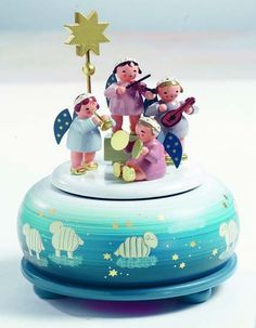 Angels+Concert++-+Wooden+Music+Box+by+KWO+Olbernhau $213.00 incl. shipping!