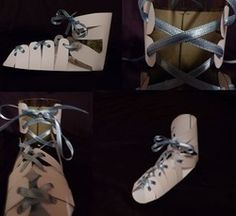 Paper pattern for Roman Sandal