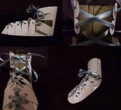 Paper pattern for Roman Sandal