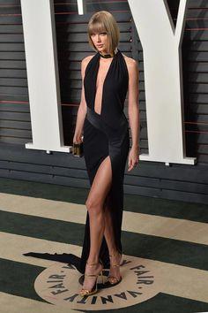 Taylor Swift at Vanity Fair Oscar party a7400130f7c3