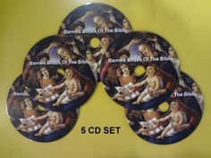 Banned books of the bible on 5 cd's