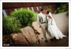 Kyle Vega and Rachel Hancock Wedding -Photographs by Silverlight Studios Posies by Patti