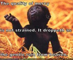 The Quality of Mercy - Portia - the Merchant of Venice
