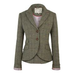 This Blazer is fantastic with a great pair of straight legged jeans, or a skirt of soft material and riding boots.