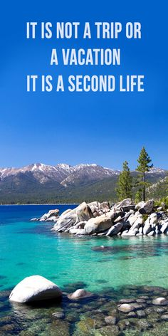 A beautiful  Lake Tahoe Destination Area in USA. : #travel #usa #tour #vacation #holiday #destination #beautiful #place