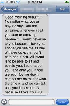 Boys...take notes.