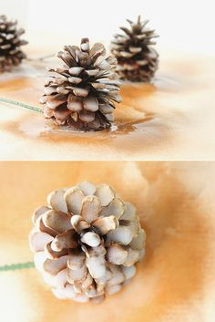 fun with spray plasti dip - plasti-dip pine cone ornament tutorial: a blue christmas blog hop  - sweet dreams are made of these