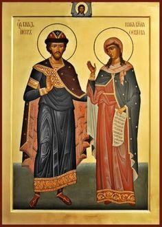 Св. Петр и Феврония / Saints Peter and Fevroniaof Murom